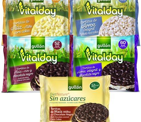 Tortitas Vitalday y Diet Nature